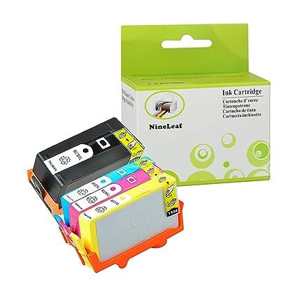 NineLeaf - 4 Cartuchos de Tinta compatibles con HP 903XL 903 ...