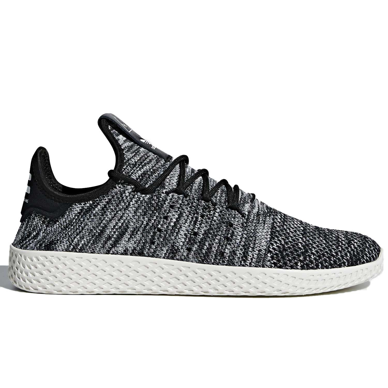 adidas Men's Pw Tennis Hu Sneaker B07B12446Z 6 D(M) US|White/Black