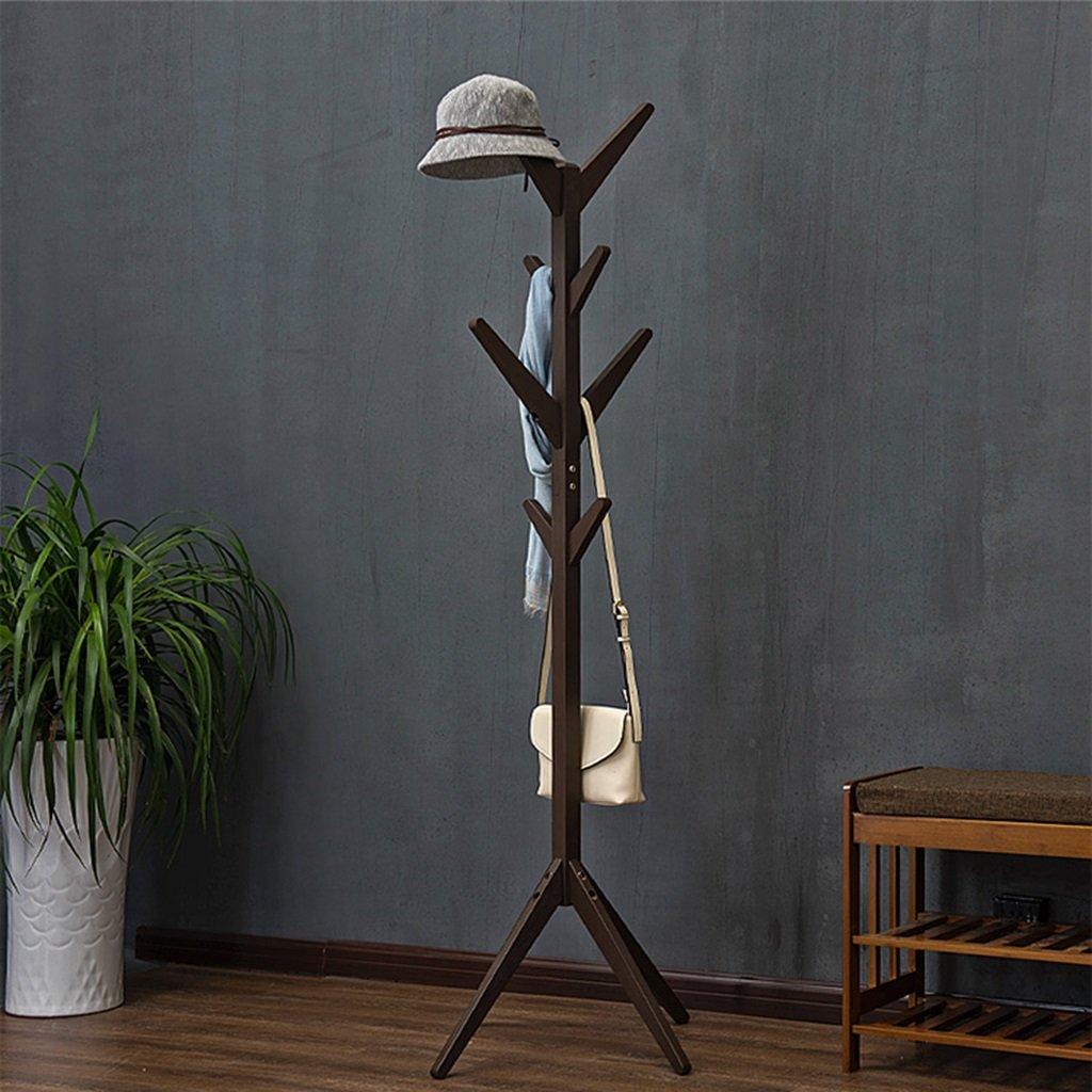 L& Y Perchas Estante de madera de la capa Estante libre creativo Moderno Escudo de la capa simple Sitio del dormitorio de la sala de estar ( Color : Blue -B )