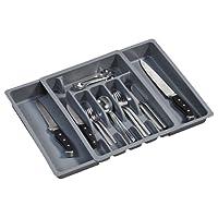 Kesper Variabler Besteckkasten, Schubkasten, aus Kunststoff, Maße: ca. 290-500 x 65 x 380 mm, erhältlich in verschiedenen Farben