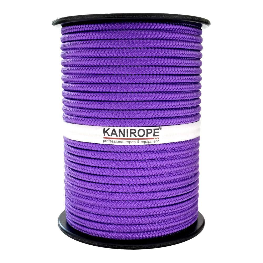 Kanirope/® Corde Cordage PP Polypropyl/ène MULTIBRAID 6mm 100m Violet 4327 tress/ée