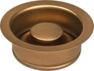 Ruvati Garbage Disposal Flange for Kitchen Sinks - Copper Tone Stainless Steel - RVA1041CP