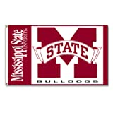 NCAA Mississippi State Bulldogs 3-by-5-foot Flag
