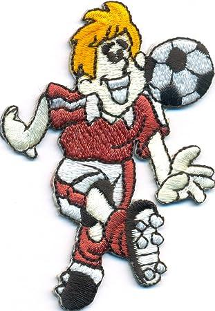 Fussballspieler Comic Kinder Fussball Fc Fanclub Trikot