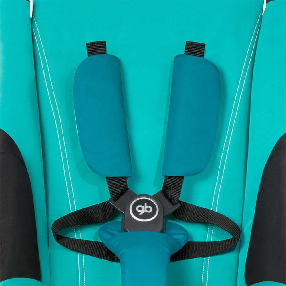 GB Pockit PLUS Stroller 2017 / multi-adjustable backrest / Light Traveler / from 6 Mo.-4Y. Sea Port, navy blau by gb (Image #6)