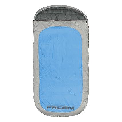 Fridani PB 220S XXL Camping Saco de Dormir de hasta 18 °C Outdoor – Saco