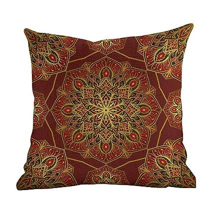 Amazon.com: Matt Flowe Home - Funda de almohada decorativa ...