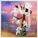 DESIGN CONNECTION JESUS CHRIST WALL CLOCK