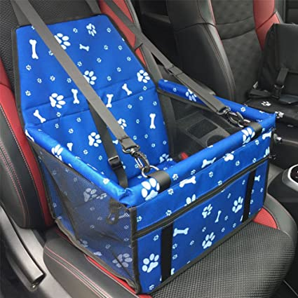 Pet Car Booster Seat Carrier,Foldable Car Seat Cover Carrier