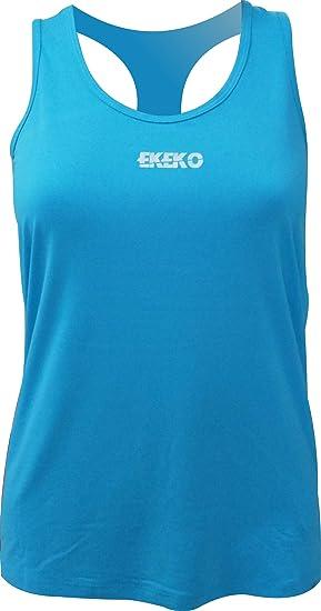 Camiseta Mujer EKEKO Karma, Yoga, Fitness y Deportes en General.