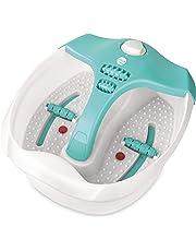 Daga HM-2200 - Hidromasajeador, Mando selector con 3 posiciones, Función burbujas, Vibración, Calor infrarrojo, Calentar agua, Tapa antisalpicaduras, 4 rodillos de masaje por presión
