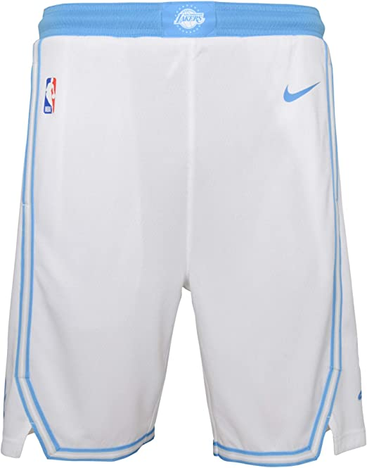 Los Angeles Lakers Youth 8-20 Official Swingman Performance Shorts