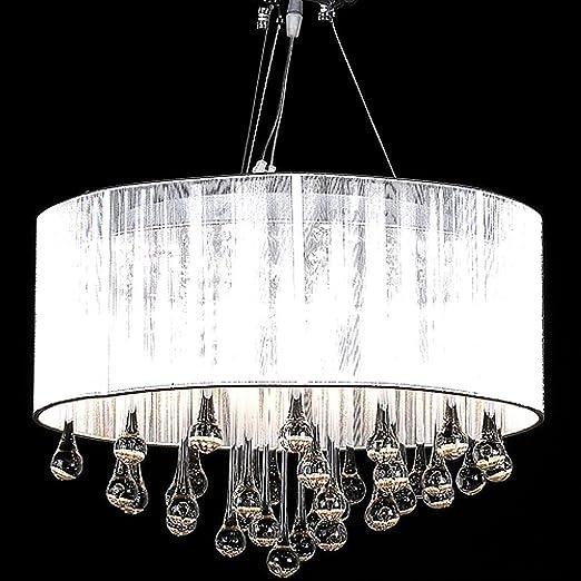 93 opinioni per Lampadario moderno vetro con paralume, lampada a sospensione