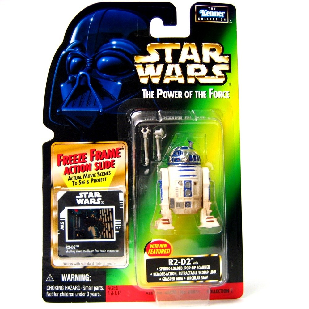 Amazon.com: Star Wars: Power of the Force Freeze Frame > R2-D2 with ...