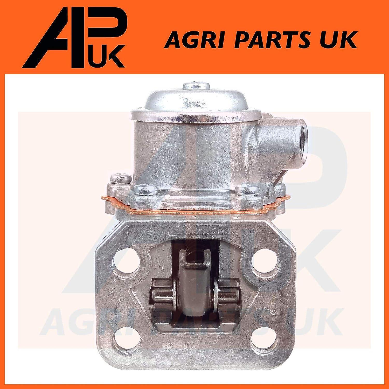 APUK Fuel Lift Pump Compatible with JCB 3 4 C CX 214 217 Backhoe Loader 140 Excavator 215 Skid Steer