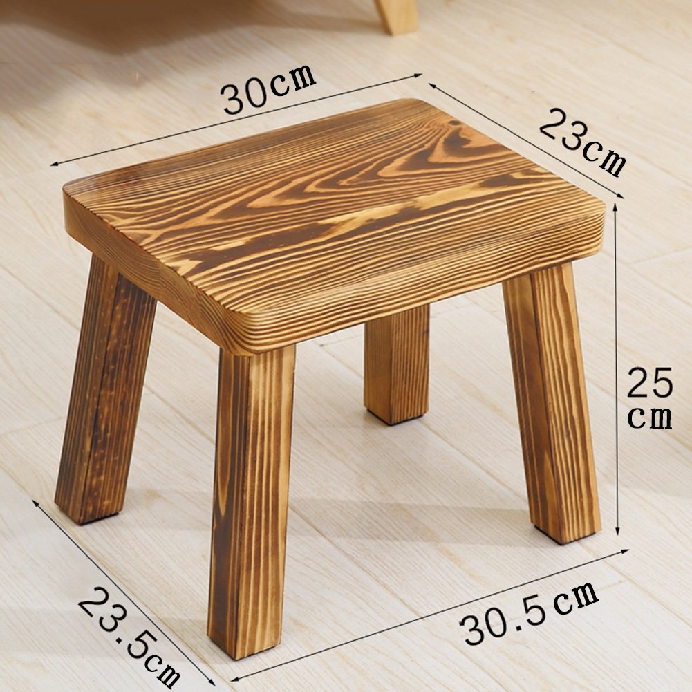 Sensational Anti Humpback Stool Pine Stool Home Solid Wood Small Stool Alphanode Cool Chair Designs And Ideas Alphanodeonline