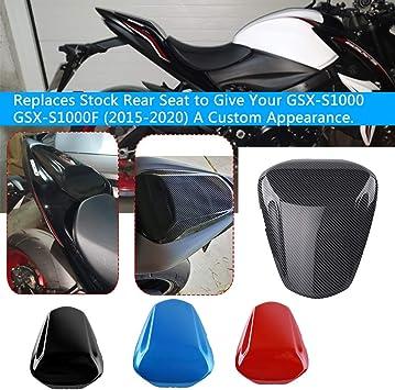 /15/16 Pasajeros r/ígida Asiento gugel cubierta protectora Secci/ón para 2015/ /2016/Yamaha YZF R 125/R125/ XX ecommerce Moto ABS pl/ástico parte trasera pasajero