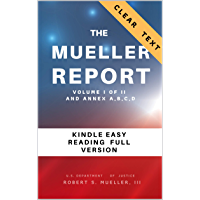 The Mueller Report: Part I and Part II and annex. full transcript easy to read
