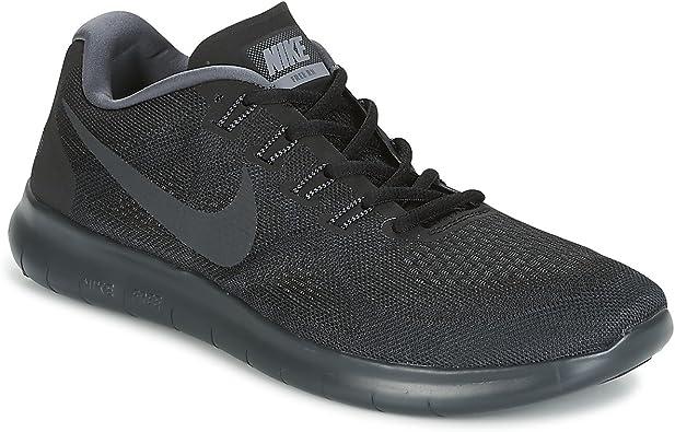 Nike Free RN 2017, Zapatillas de Trail Running para Hombre, Negro ...