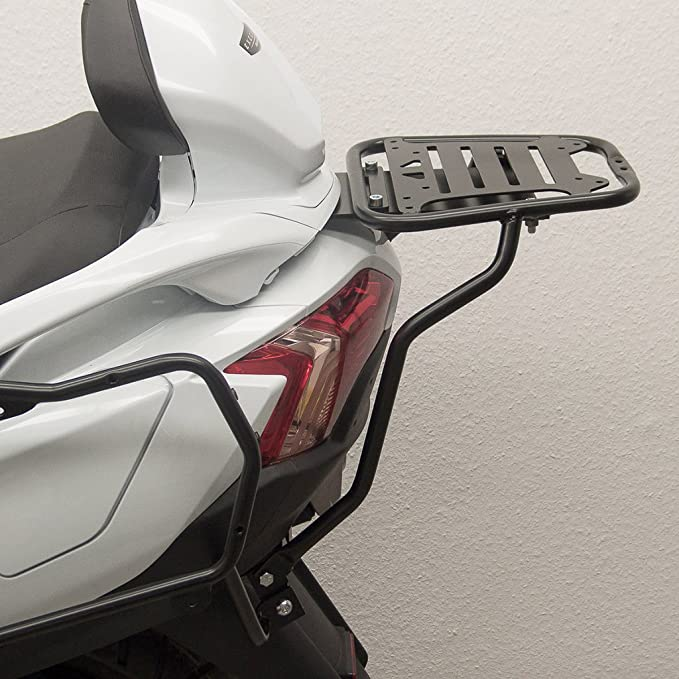 Wing Mirrors World SUZUKI BURGMAN 650 Rider Waterproof Motorcycle Cover Motorbike Silver Black