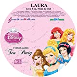 """Children's Personalized SONGS WITH MY NAME - - WALT DISNEY PRINCESSES TEA PARTY - - Music CD and """"NEW"""" Digital Content Is HERE! - - """"CUSTOMIZE WHEN ORDERING"""""""