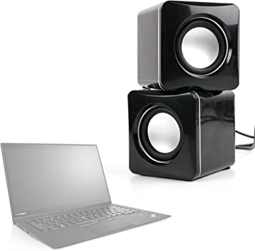 DURAGADGET Altavoces Compactos para Portátil Lenovo ThinkPad X1 Carbon/LG gram 15