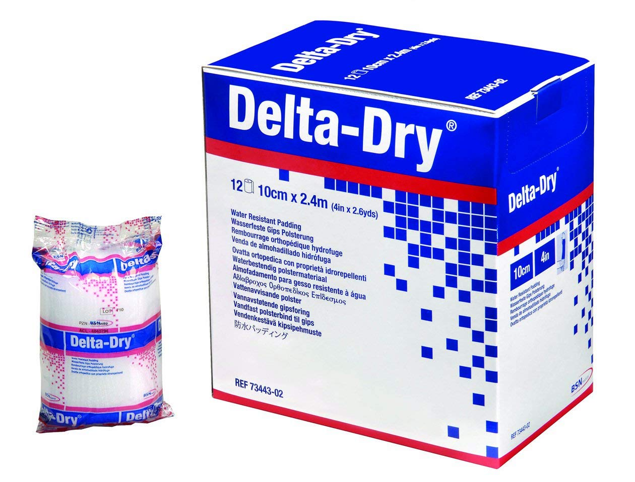 Cast Padding Water Resistant Delta-Dry 2 Inch X 2.6 Yard Synthetic NonSterile by Delta-Rol (Image #1)