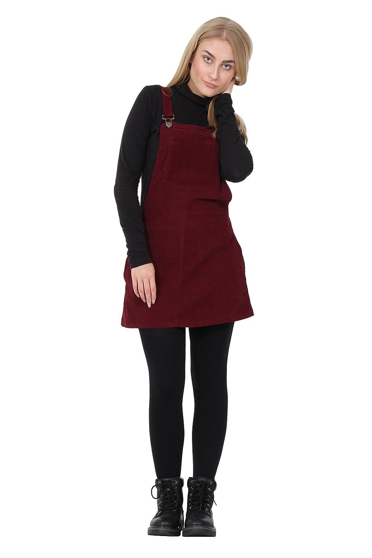 Bib Overall Dress lightweight burgundy Bib overall skirt, short skirt with bib