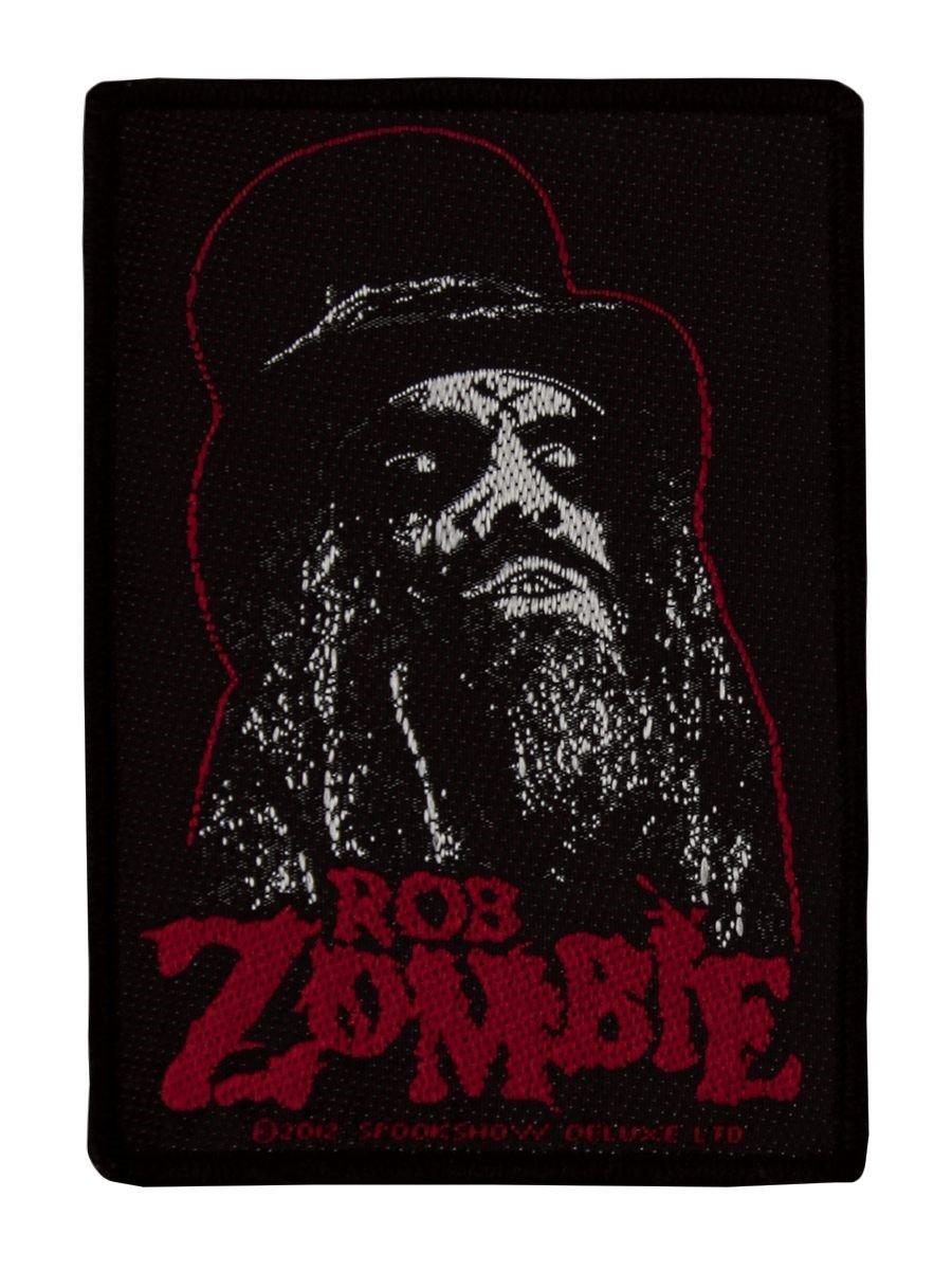 Rob Zombie Targhetta vivigade toppa Portrait Grindstore