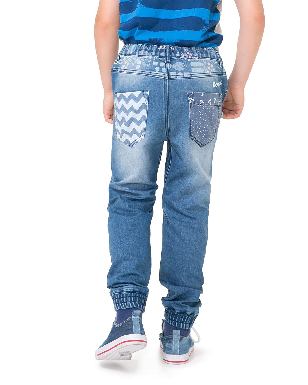 Sizes 4-14 Desigual Boys Denim Pants Red