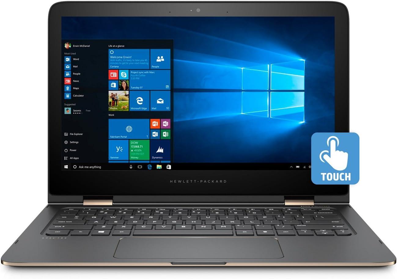 "HP Spectre x360 13 - 13.3"" 4K Touch - i7-7500U - 16GB - 512GB - Stylus - Ash silver"