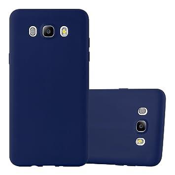 Cadorabo Funda para Samsung Galaxy J5 2016 en Candy Azul Oscuro – Cubierta Proteccíon de Silicona TPU Delgada e Flexible con Antichoque – Gel Case ...