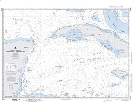 Amazon.com : East View Map Link NGA Chart 28004-Caribbean ...
