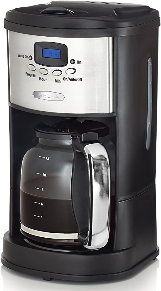 Amazon.com: BELLA Linea Collection cafetera programable de ...