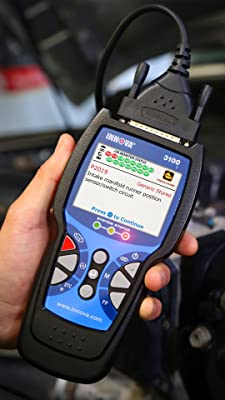 INNOVA 3100J OBD2 scanner can diagnose preceding fixation of SRS Airbag and ABS light issues