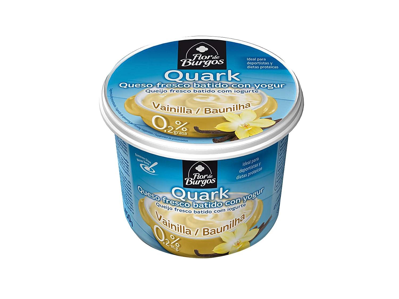 Quark vainilla. Queso fresco batido con yogur 0,2%MG 450g ...
