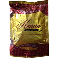 Hemani Henna brown with rose for hair and hands