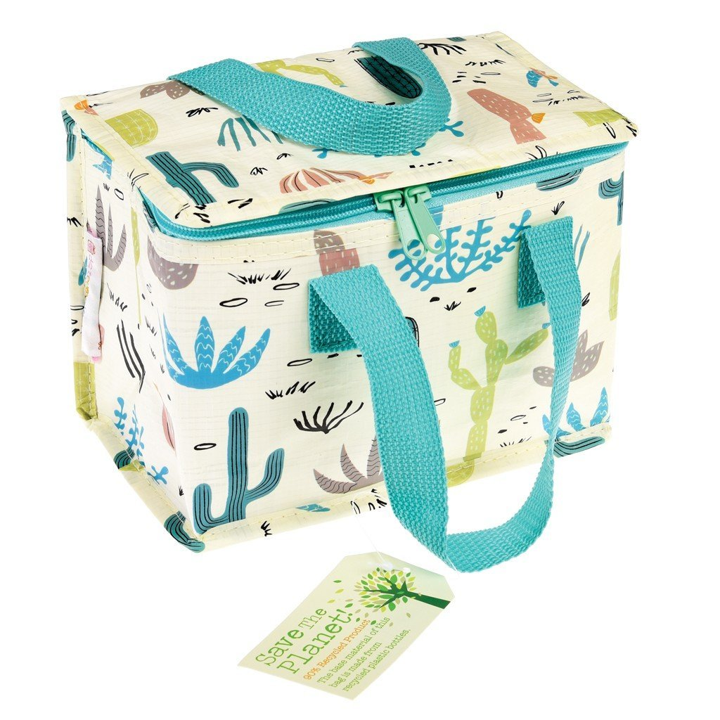 Insulated Lunch Bag - Choice Of Floral Design ( Desert In Bloom ) Rex International 27112
