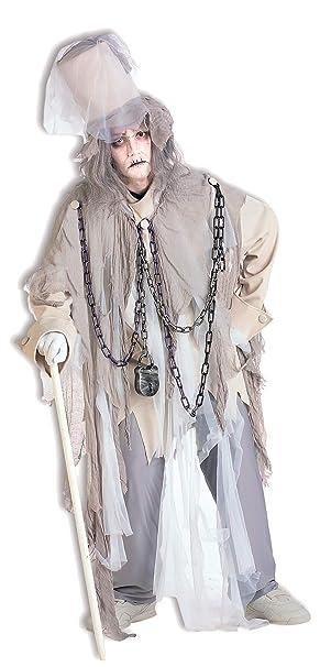 Spirit Of Christmas Past Costume.Forum Novelties Men S Jacob Marley The Original Christmas Spirit Costume