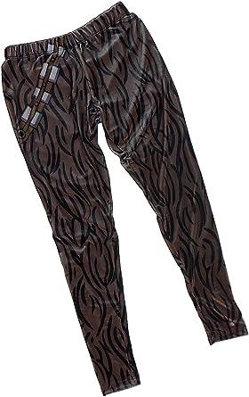 41481755c7e06 Chewbacca Velvet Costume -- Star Wars Ladies All-Over-Print Leggings,  X-Large: Amazon.co.uk: Clothing