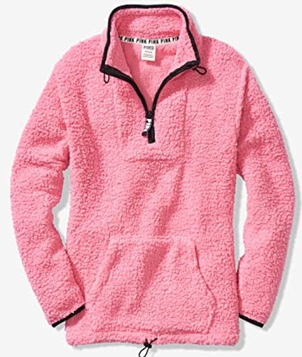 Amazon.com   SOLD OUT VICTORIA SECRET GORGEOUS WARM   COZY SHERPA PULL OVER  - BABYDOLL PINK SIZE. LARGE   Everything Else 49a6ed8b0