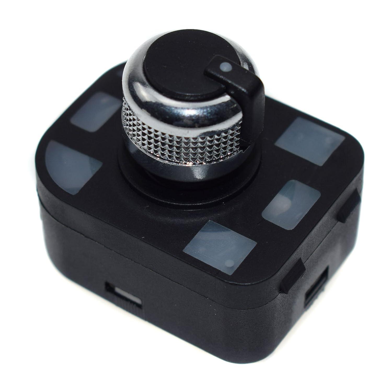 Spiegel Schalter Kontrolle 4/F0959565/F/ür audis A4/Quattro S4/RS4/B6/B7//A6/S6/RS4/C6//A8/S8/TT Q7 R8/2001/2002/2003/2004/2005/2006/2007/2008/2009/