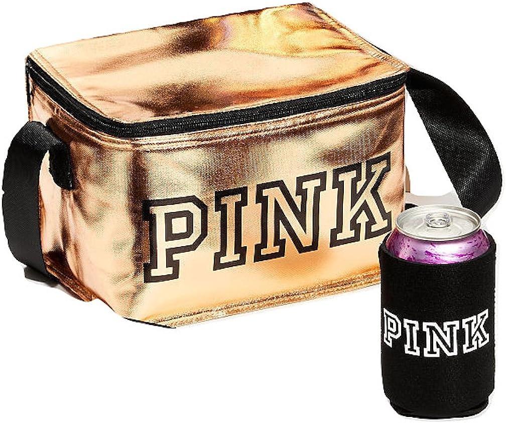 Victorias Secret Pink New Cooler   COOZIE Color Gold