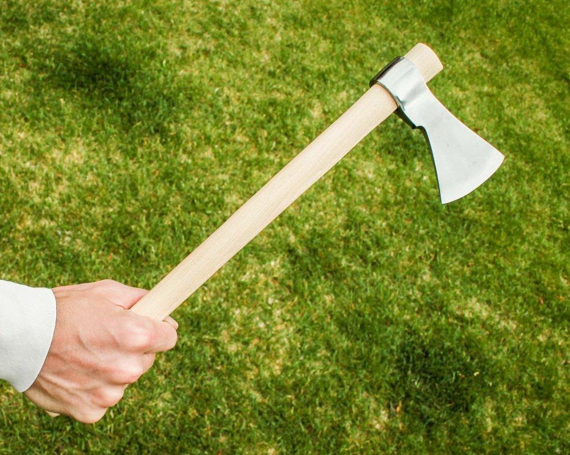 Amazon.com: Pequeñas 16 inch forjado a mano mouse de acero ...