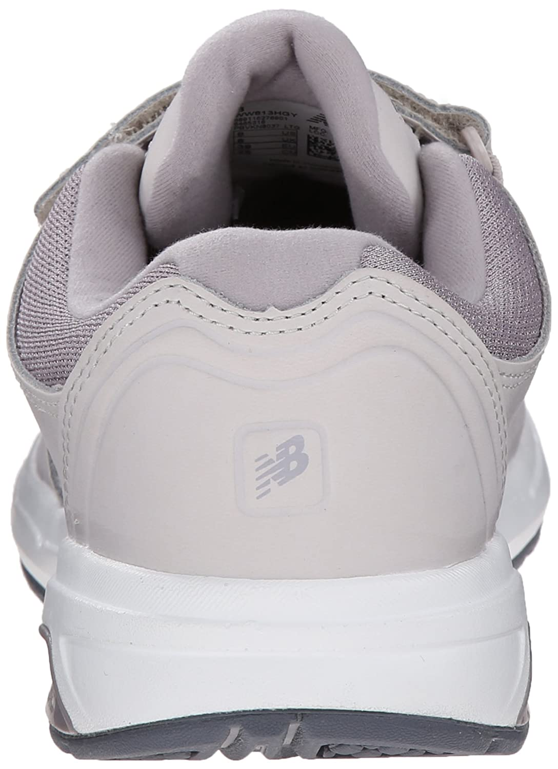 New Balance Women's WW813 Hook and Loop Walking Shoe B00R792G8G 11 2A US|Grey