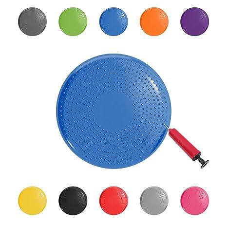 Gloop - Cojín Cervical para Asiento de balón (Incluye Bomba, sin ...