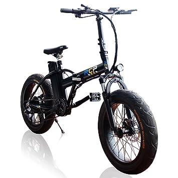 RCP – eroader20 – 20 inch Fat tire energía eléctrica bicicleta para niños y niñas –