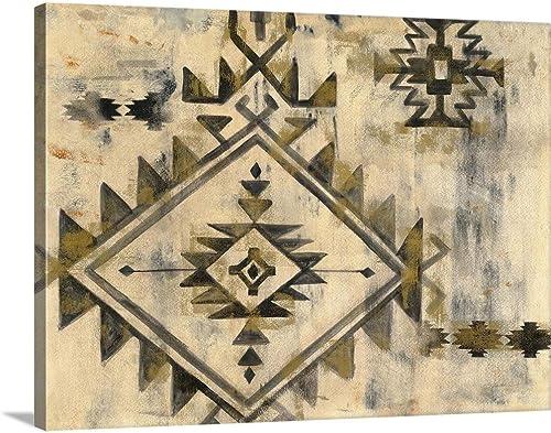 Southwest Design VI Canvas Wall Art Print