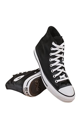 Converse Chuck Taylor All Star Women Hi Velvet Sneaker (5) Black White 91a997e1c
