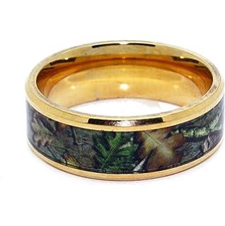 orange camo wedding rings by 1 camo camo promise ring hunter - Orange Camo Wedding Rings
